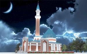 Мечеть по ул.Братьев Петряевых г.Казани